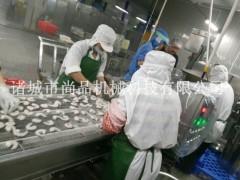 留尾虾挂浆机 面包糠虾自动裹糠涂浆设备