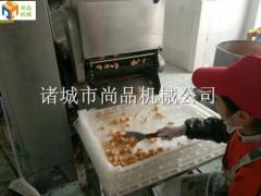 沙丁鱼上浆机 上屑机 河鱼裹涂油炸设备