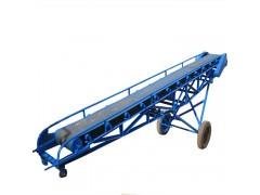 移动式电动升降输送机 装车皮带输送机 防滑粮食传送机
