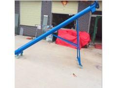 管式螺旋绞龙输送机 自动螺旋上料提升机 无轴绞龙输送机设备