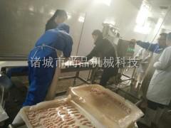 肯德基鸡肉饼上面包糠机 自动撒粉撒糠机 尚品机械