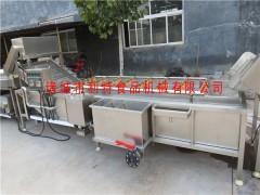 厂家直销净菜加工流水线 净菜清洗机 按要求设计生产