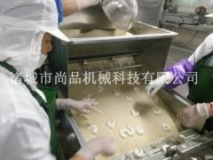 爱心鸡排上浆机 裹糠裹屑机 裹面包糠机