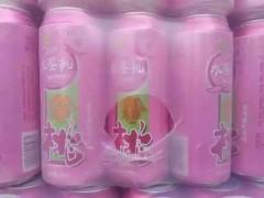 啤酒招商水蜜桃易拉罐啤酒