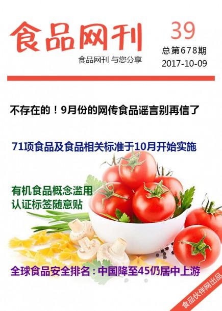 食品网刊2017年第678期
