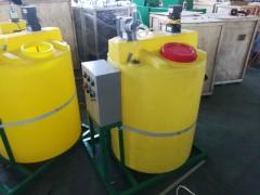 污水处理加药装置配件齐全