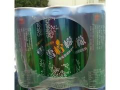 雪柠檬易拉罐啤酒