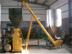 圆管式粮食输送机、不锈钢提升机 粉末上料机