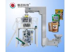 坚果干果袋装食品颗粒自动包装机