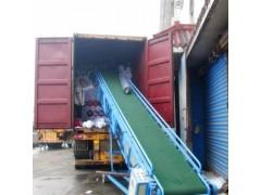 供应袋装粮食输送机 移动式装车皮带机 家用水平传送机