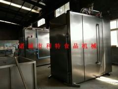 小红肠烟熏炉 食品专用烟熏炉 肉肠烟熏炉机械