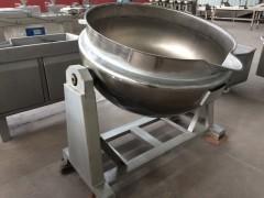 不锈钢刮边搅拌夹层锅,全钢夹层锅 厂家