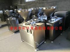 腊肠灌肠机 烤肠液压灌肠机 脚踏液压灌肠机 肉肠灌肠机设备