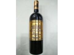 法国原瓶进口拉菲堡红酒2012金标重型瓶