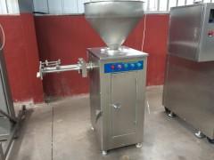 腊肠自动打结灌肠机 气动扭结香肠灌肠机 定量扭结香肠机