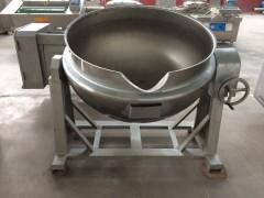 大型食堂蒸煮锅 可倾电加热夹层锅 糕点馅料炒锅厂家直销