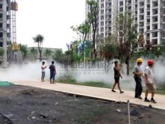 楼盘公园人工造雾设备价格/休息庭院景观造雾供应厂家