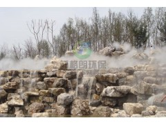 生态园林优质景观雾效设备价格/大型公园人工造雾设备