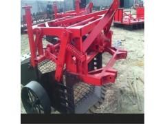 自动挖元胡机图片  新款药材挖掘机20马力拖拉机带动