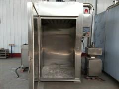 得利斯通道式烟熏炉 悬挂类烟熏炉 熏鸡设备厂家直销价格优惠