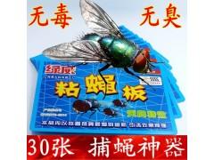 绿威强力粘蝇板苍蝇贴粘蝇纸彩带胶灭蚊虫家用贴纸
