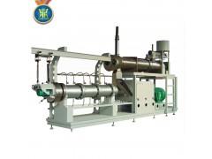 大型全自动膨化鱼饲料颗粒生产机械设备价格