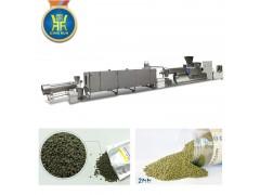 大型全自动膨化鱼饲料颗粒加工机械设备价格