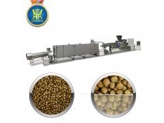 大型全自动膨化鱼饲料颗粒机器设备价格