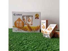 乳泰牧业 乳+系列 燕麦牛奶 250ml×12盒