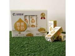 乳泰牧业 乳+系列 香蕉牛奶250ml×12盒