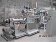 湿法双螺杆膨化鱼饲料加工设备生产厂家