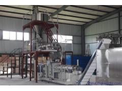 湿法双螺杆膨化鱼饲料生产机器生产厂家