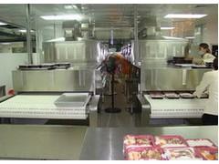 广州科威微波能有限公司盒饭加热设备