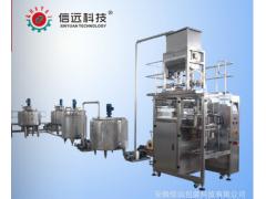 火锅底料酱料调料自动包装生产线设备全自动火锅调料酱料包装设备
