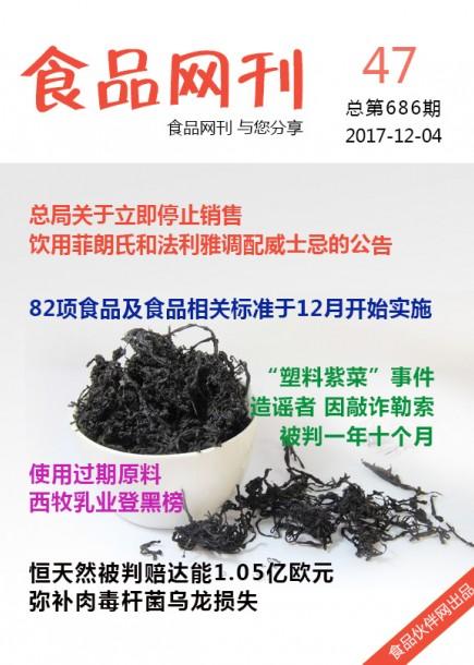 食品网刊2017年第686期