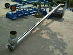 粉粒料用不锈钢上料机  PVC粉料螺旋提升机