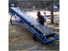 输送能力大高效皮带输送机 支架牢固带式运输机设备y9