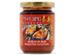 新加坡进口酱料泰新娘惹咖喱鱼酱秘制酱料鱼酱