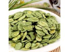 绿茶南瓜子,颗粒饱满绿茶南瓜子