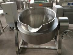 食堂商用蒸煮锅 可倾电加热夹层锅 不糊不粘锅