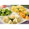 学习包水饺技术-卖彩色水饺赚钱多不