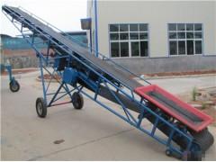 食品级皮带输送机 粮食运输用大倾角皮带输送机