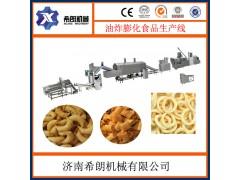 尖角脆膨化食品生产设备