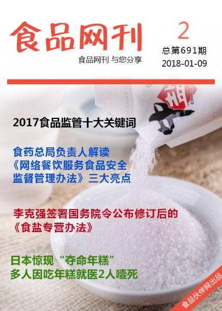 食品网刊2018年第691期