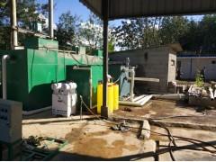 某屠宰场污水处理设备平面图