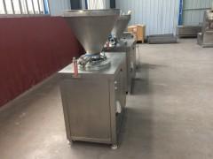 香肠加工设备 香肠灌肠机得利斯专业制造好产品