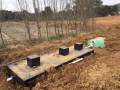 案例供应-生活污水处理设备现场图