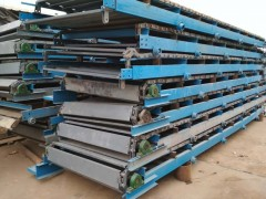 重物输送用链板输送线  冰箱装卸用链板输送机