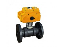 供应Q941S电动法兰塑料球阀 DN100