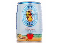 德国进口啤酒 德拉克(Durlacher)小麦啤酒 5L桶装